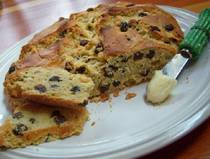 Gluten free Irish Barm Brack Bread