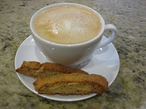 Gluten free biscotti