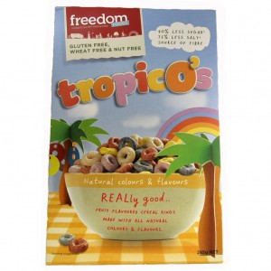 tropicos gluten free cereal