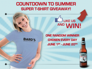 Bards Beer T-shirt Giveaway