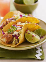 Gluten-free fish tacos