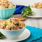 gluten free vegan ranch quinoa salad recipe
