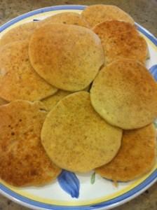 Gluten-free, Dairy-free, Egg-free Vegan Pancakes