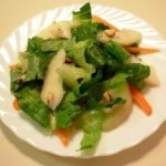 gluten free pear brazil nut salad recipe