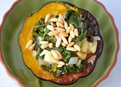 gluten free stuffe acorn squash recipe
