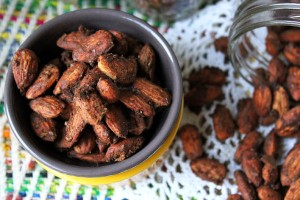 Pumpkin Pie Roasted Almonds