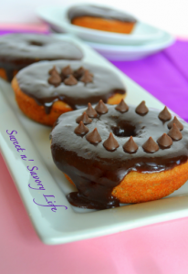 SweetnSavoryLife chocolate glazed donut vegan and glutenfree 431341