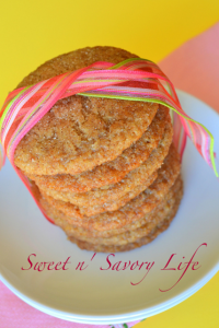 gluten free dairy free soy free egg free snickerdoodle cookies sweetnsavorylife