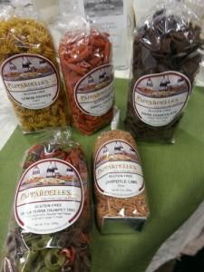 Pappardelles Gluten Free Pastas. Courtesy: Jennifer Harris