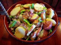 Potato Green Bean Salad.  2009  Teri Lee Gruss