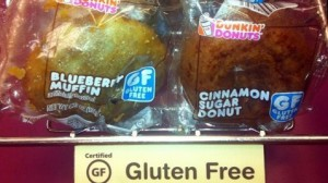 gluten free dunkin' donuts
