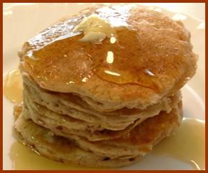 Basic Pancakes and Waffles gluten free dairy free
