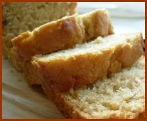 gluten free cashew apricot quick bread