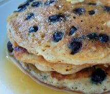 gluten free blueberry pancake recipe