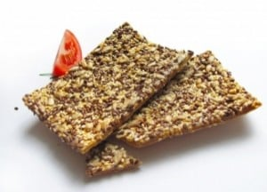Flaxseed Crispbread is Loaded with Alpha-Linolenic Acid.