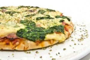 Lots of Pyridoxine In This Pie...Chicken, Cheese,Spinach, Tomato