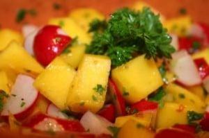 Mango Salad.