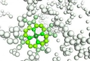 Image of a protein molecule.