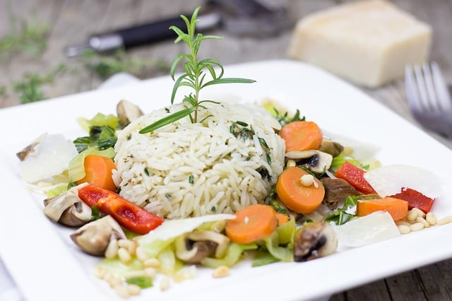 Gluten-Free Risotto with Fresh Herbs