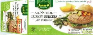 jennie-o turkey burgers
