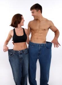 Lose weight around neck