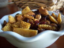 gluten free holiday snack mix recipe
