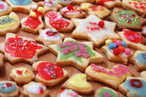 Decorated Gluten-Free Sugar Cookie Recipe