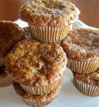 Gluten-Free, Dairy-Free Morning Glory Muffin Recipe