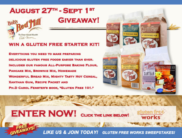 Bob's Red Mill Facebook Sweepstakes
