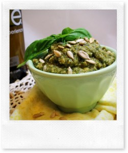 Sunflower Seed and Kale Pesto