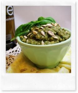 Sunflower Seed and Kale Pesto