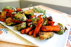 Balsamic Glazed Roasted Vegetables