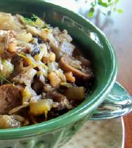 gluten-free grainless stuffing with sausage