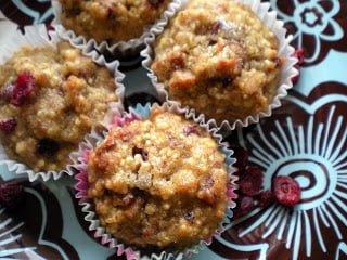 gluten free quinoa mufins