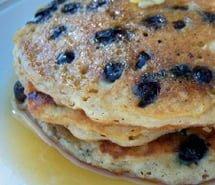 New Gluten-Free Blueberry Pancake Recipe