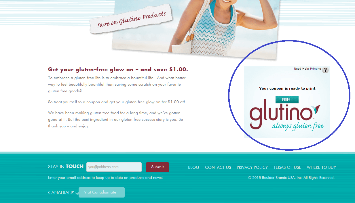 Glutino Coupon Page Print 11.7.15
