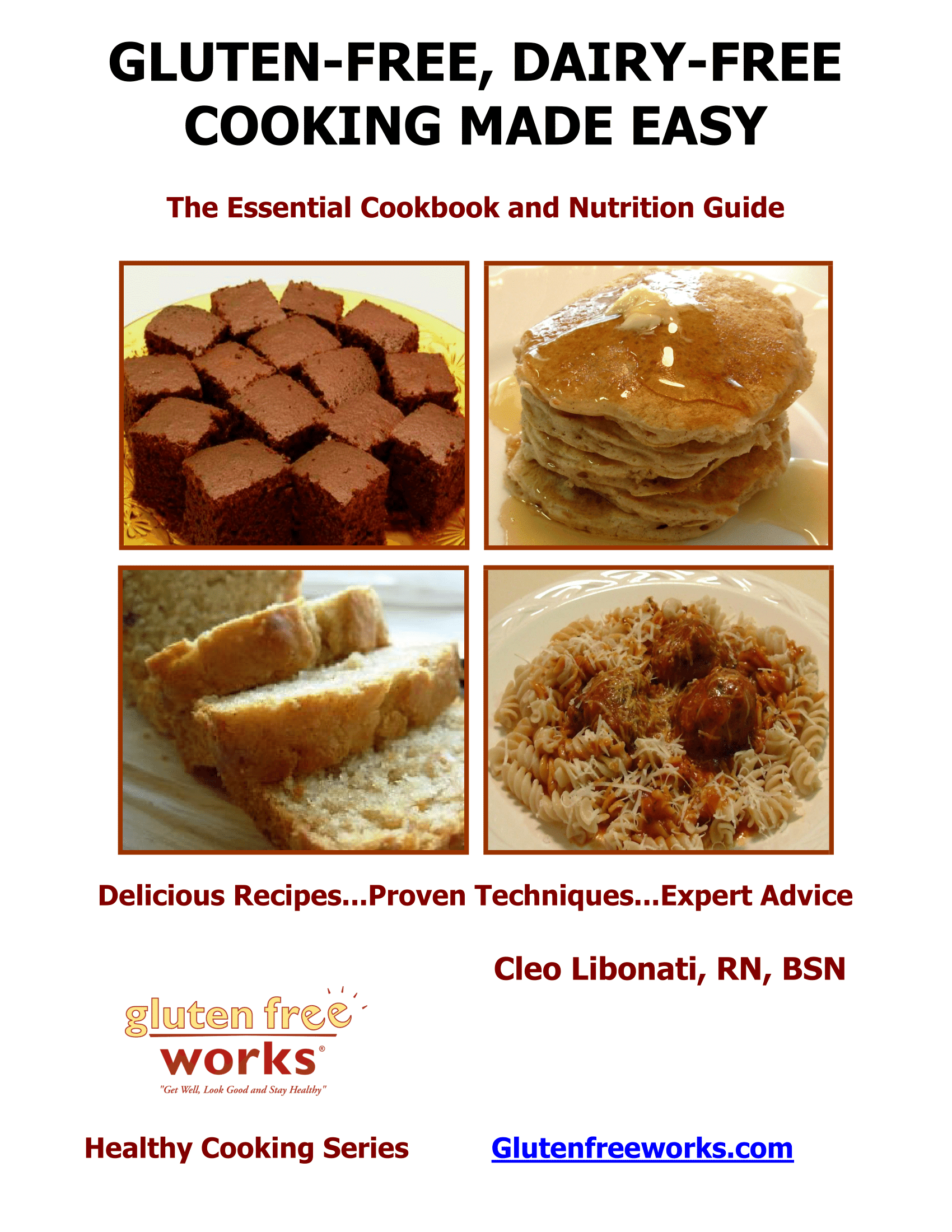 Gluten free dairy free cooking made easy e book gluten free works gluten free dairy free cooking made easy 3rd forumfinder Image collections