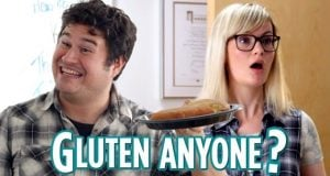 tell people you can't eat gluten