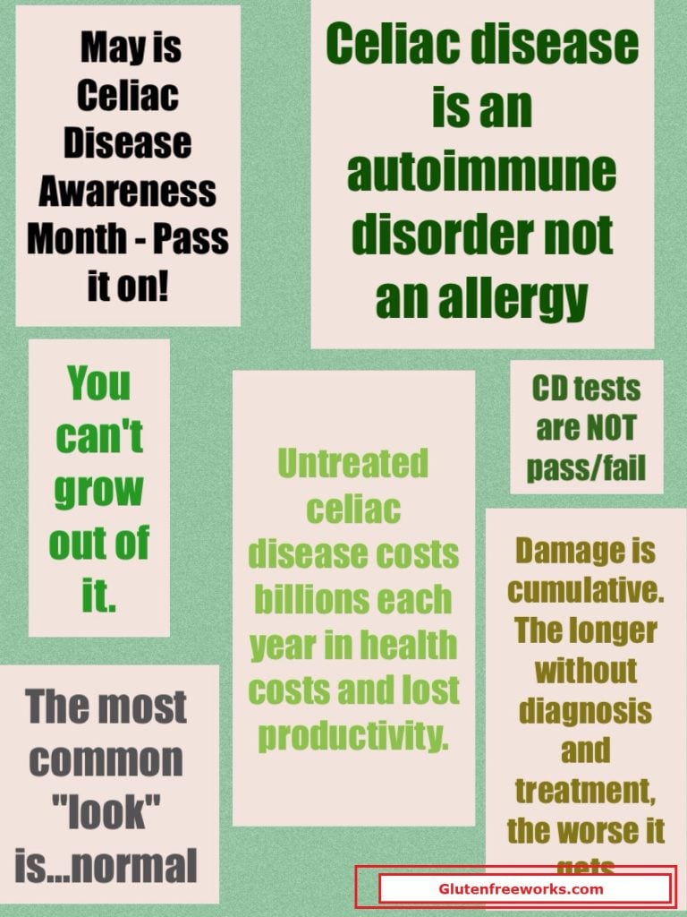 10 Quick Facts About Celiac Disease to Pass On | Gluten ...