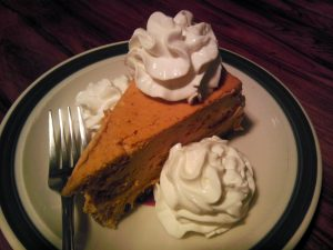 (Nobody will know it's gluten free) Pumpkin Cheesecake