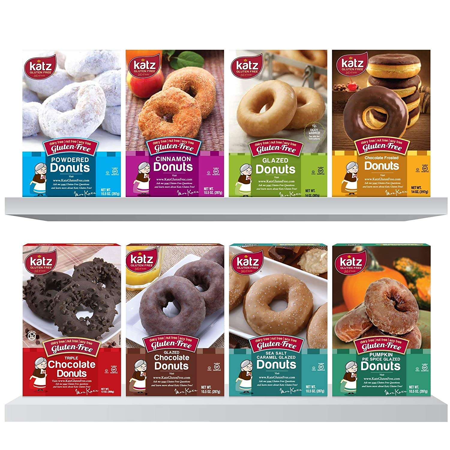 Katz Gluten Free Donuts – Top 8 Flavors – Free Shipping!