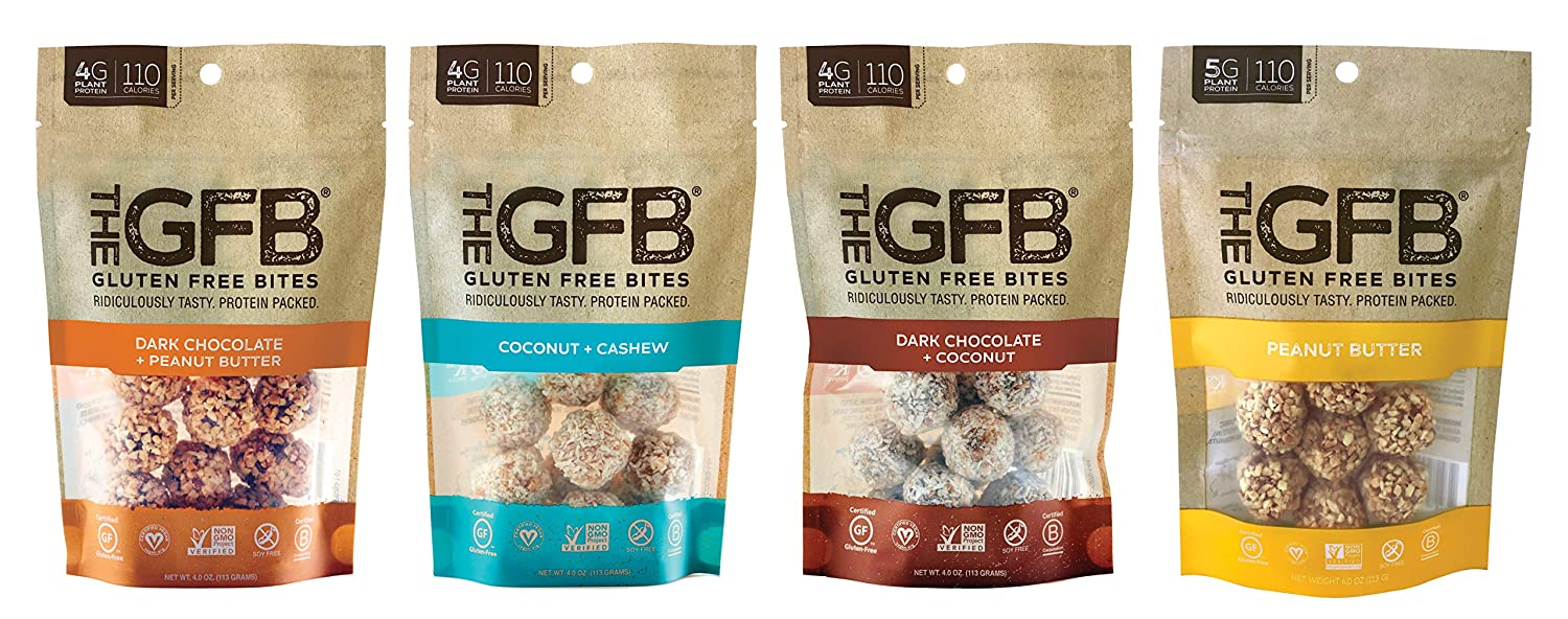 The GFB Gluten Free, Non GMO High Protein Bites Sampler Pack