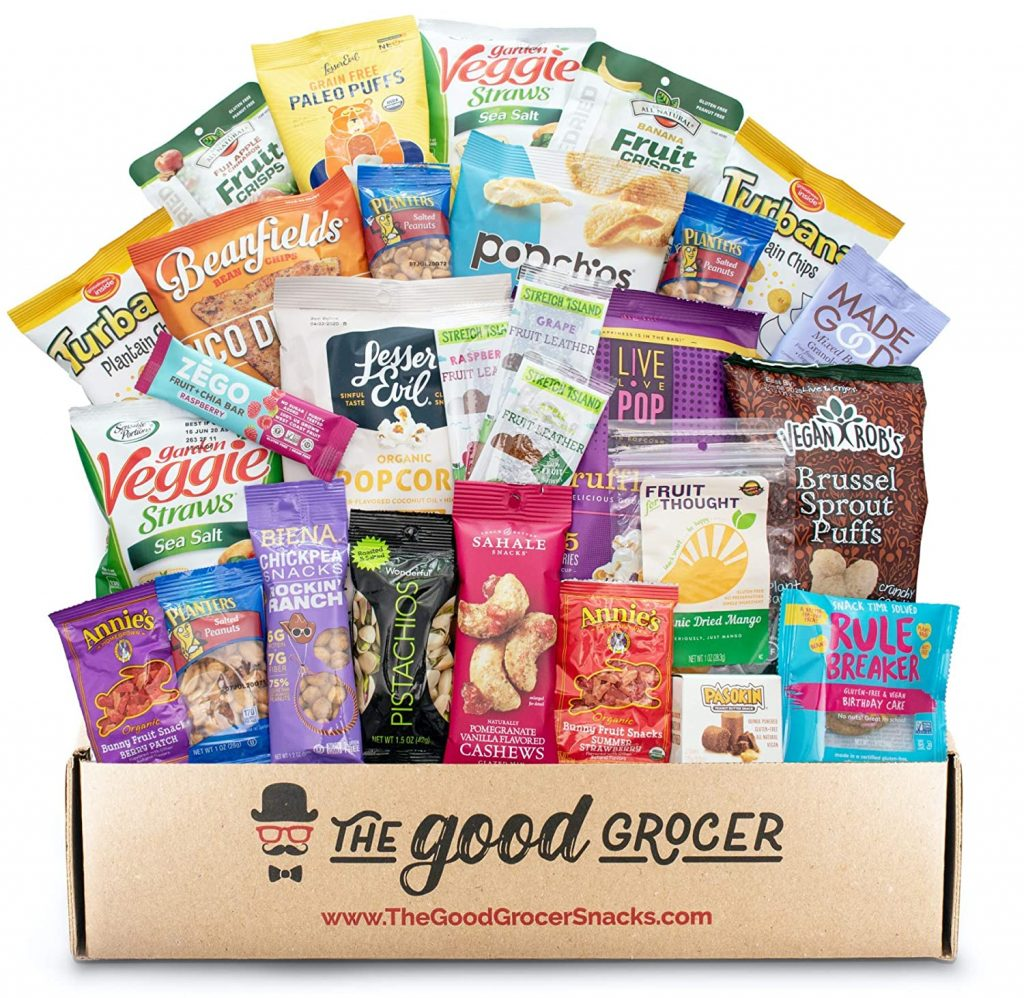 GLUTEN FREE and VEGAN Healthy Snacks Care Package