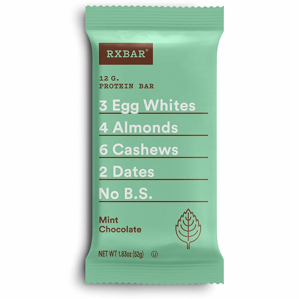 DEAL ALERT! RXBAR, Gluten Free Mint Chocolate Protein Bar Pack of 12