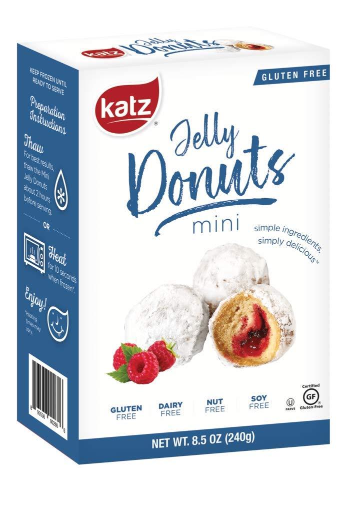 Katz Gluten Free Mini Jelly Donuts